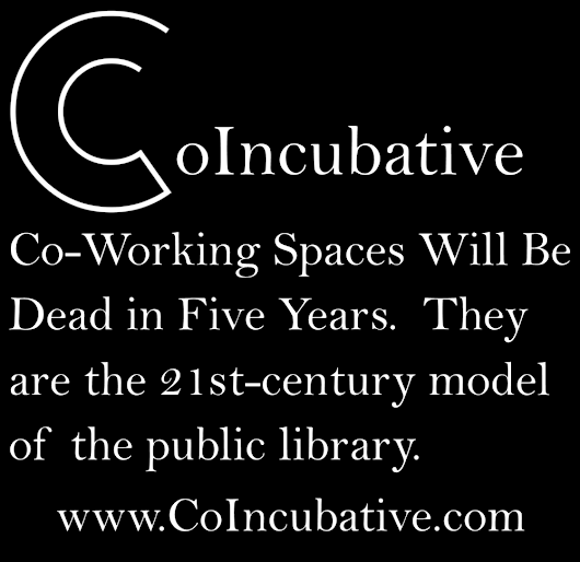 The Co-Working Spaces of the Future are Located in the Public Library