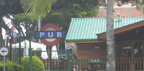 Pub in Sao Paulo, Brazil spotted by Drew White