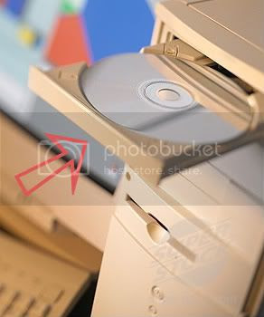 CD Rom Drive or D Drive