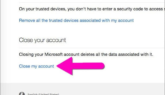 How to Delete or Close Your Outlook.com Account? - WindowsAble