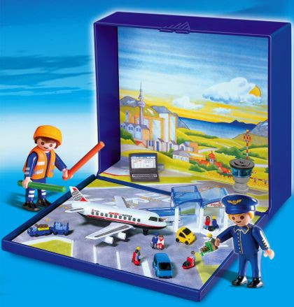 Micro Playmobil Airport