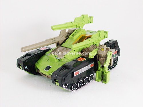 Transformers Hardhead G1 Headmaster with Duros - modo alterno