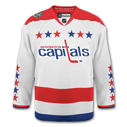 Capitals 2011 Winter Classic jersey