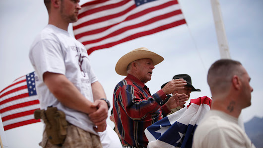 A Defiant Rancher Savors the Audience That Rallied to His Side