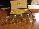 MINIATURES GUERLAIN MODELE goutte bouchon doré (5 : chamade , jicky) 50/80€