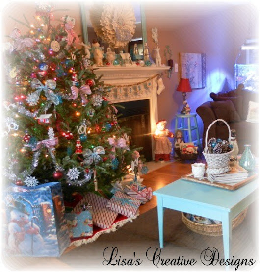 Decorating For Christmas....A Holiday Home Tour - Lisa's Creative Designs