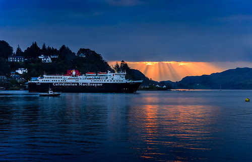 Oban-ferry by brownrobert73