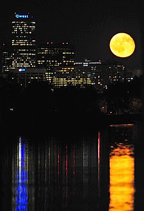 Full Moon Over Denver