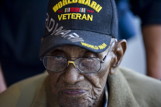 A whirlwind tour for Richard Overton, the oldest living World War II veteran - The Washington Post