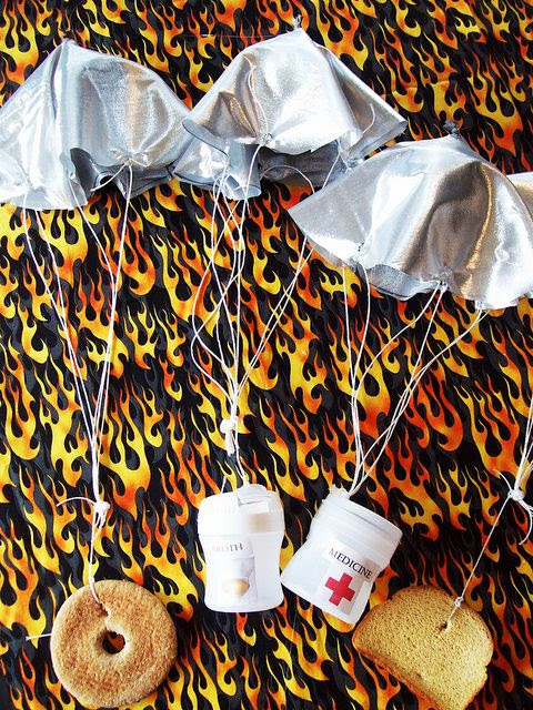 Hunger Games Parachutes | Flickr - Photo Sharing!