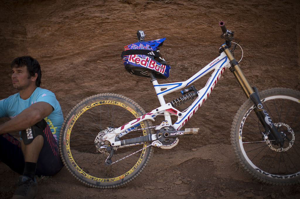 Darren Berrecloth at Redbull Rampage 2012
