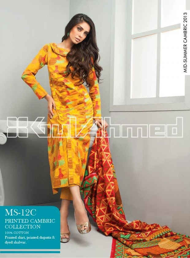 Mid-Summer-Cambric-Collection-2013-Gul-Ahmed-Printed-Embroidered-Fashionable-Dress-for-Girls-Women-10