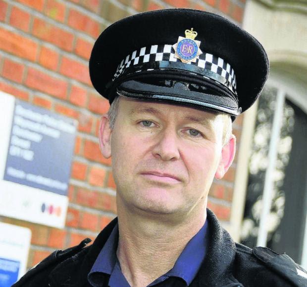 Inspector Steve Marsh of Dorchester police sectio