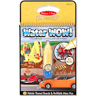 Melissa & Doug Water Wow Vehicles Book - 1 count