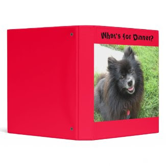What's for Dinner Recipe Binder binder