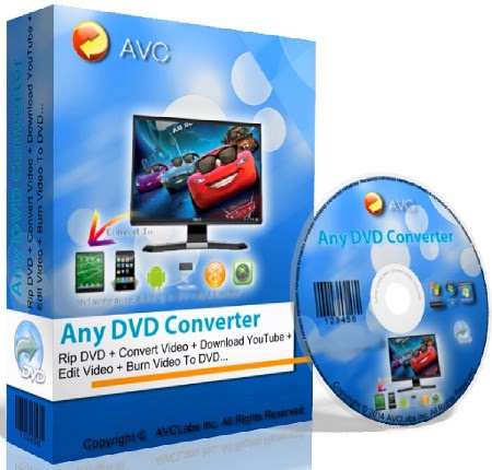 Any DVD Converter Professional 5.9.4 Crack, License Key Full Version Free Download