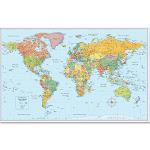 Rand McNally World Wall Map
