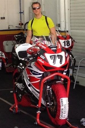 Schumacher superbike (Foto: Reprodução/Twitter Circuito de Valência)