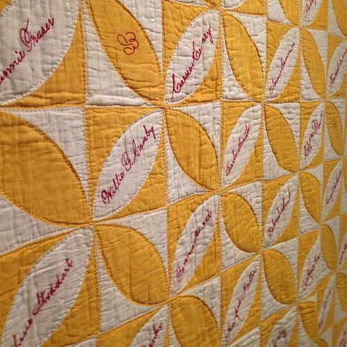 signature quilt. #quilt #textile #canada