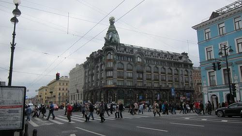 Singer Houe, Saint Petersburg