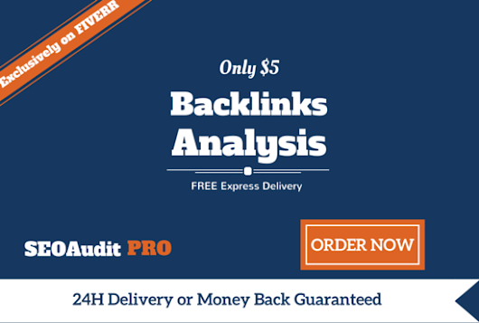 seoauditpro : I will give ULTIMATE Backlinks Analysis with Top Competitor Report for $5 on www.fiverr.com