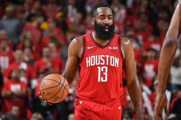 3996d797178 Chippy Game 4 belongs to James Harden as Rockets even series with Warriors