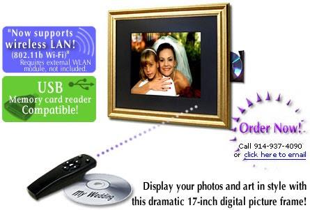 Digi Frame Df 1710 17 Inch Digital Picture Frame Pragmatic Designs