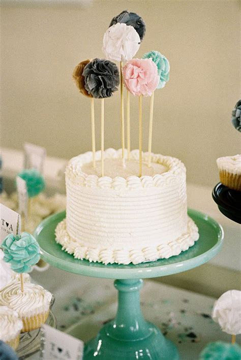 15 Fantastic DIY Wedding Cake Toppers   Something Borrowed