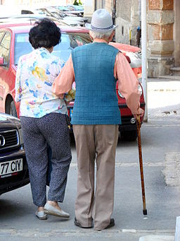 Elderly Couple - Brasov - Romania