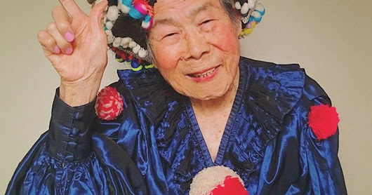 93-Year-Old Is Killin' It On Instagram With Her Modelling Shots