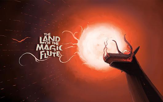 THE LAND OF THE MAGIC FLUTE - THE MOTION GRAPHIC NOVEL