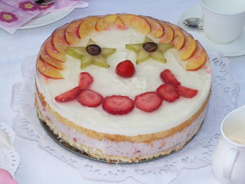 Rezept für Clown-Kuchen