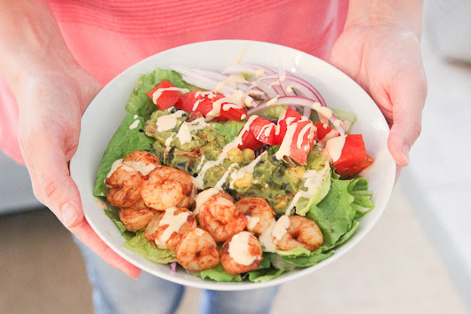 Spicy Shrimp Taco Salad Recipe - Eat, Drink, and Save Money