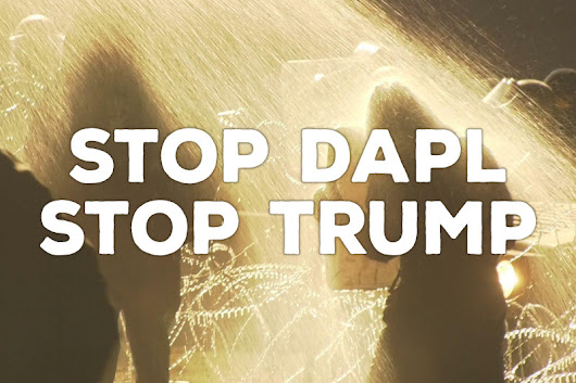 Click here to support Stop DAPL. Stop Trump. by Revolution Truth