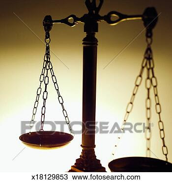 Banco de Imagem - close-up, de, a, escalas justiça. Fotosearch - Busca de Imagens, Fotografia Poster, e Fotos Clip Art