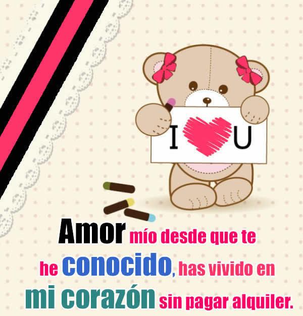 Fotos Con Mensajes De Amor Mio Consejosdeldia Com
