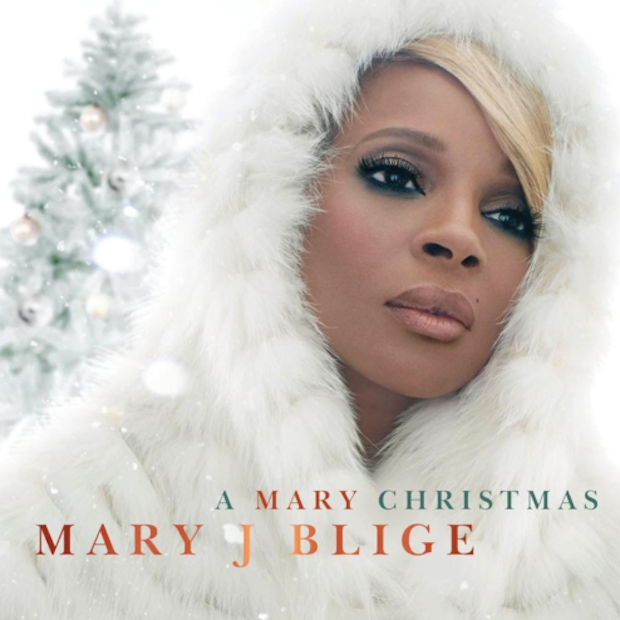 Mary J. Blige : A Mary Christmas (Album Cover) photo Mary-J-Blige-A-Mary-Christmas.png