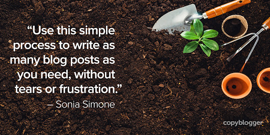 7 Steps to Grow a Blog Post - Copyblogger