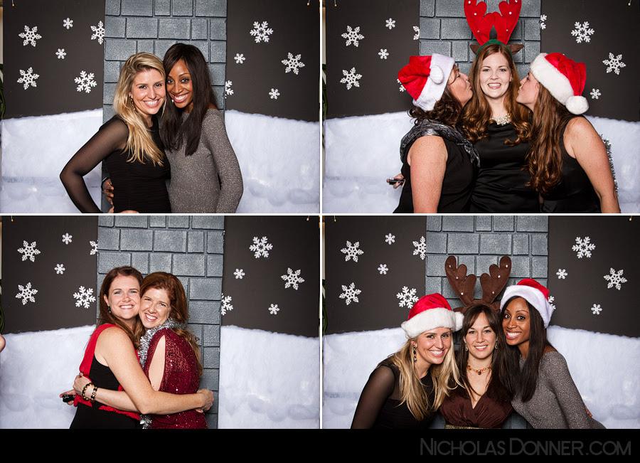 Nicholasdonnercom Photo Blog Christmas Party Photo Booth