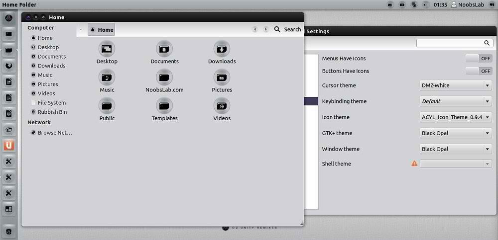 ubuntu icons