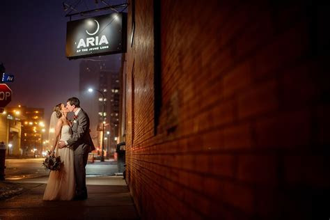 Aria Winter Wedding Minneapolis   Minneapolis Wedding