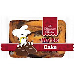 Brownie Baker Marble Cake, 4 Ounce - 54 per case.