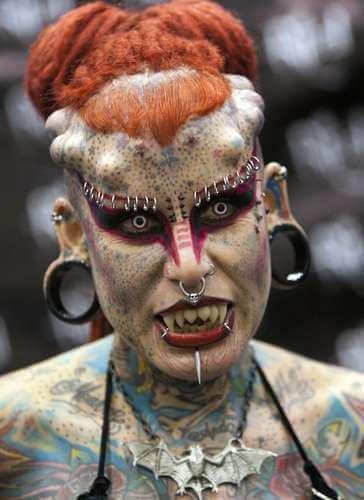 Mujer Con Mas Tatuajes En El Mundo Tatuajes