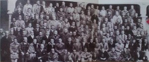 International Brigade POW's at San Pedro de Cardena in j1938. Photograph Kevin Buyers, XV International Brigades in Spain; http://internationalbrigadesinspain.weebly.com/