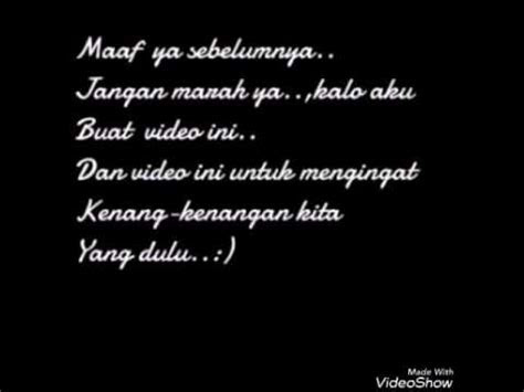 puisi  mantan youtube