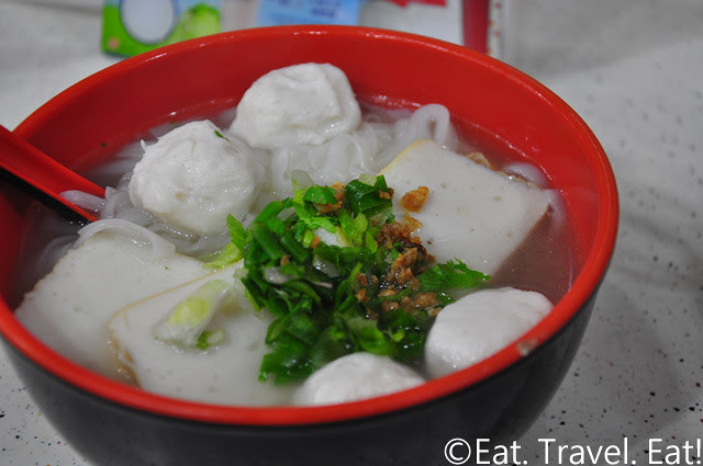 Fish Ball Noodle Soup
