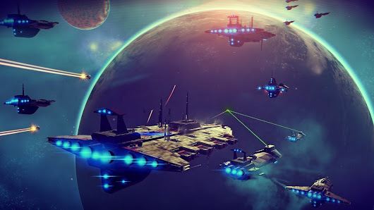 A Train With No Brakes; On Hype and Why No Man's Sky is Important
