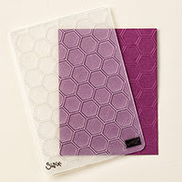 Honeycomb Textured Impressions Embossing Folder