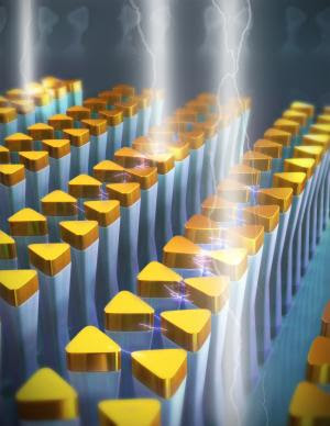 University of Illinois researchers demonstrate novel, tunable nanoantennas