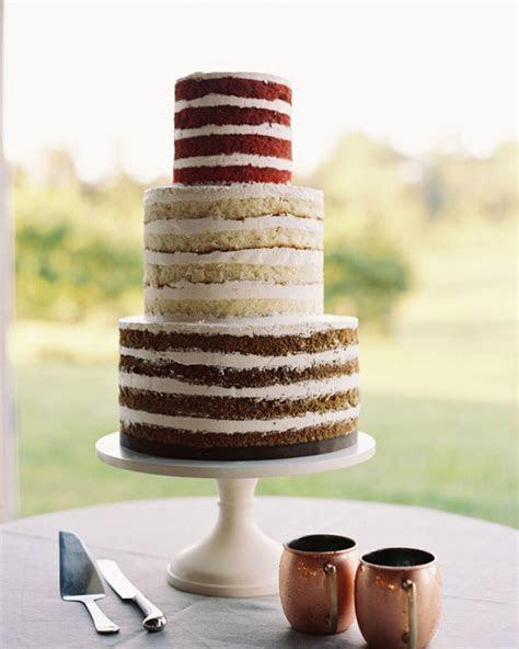 Beautiful Naked Wedding Cake Ideas